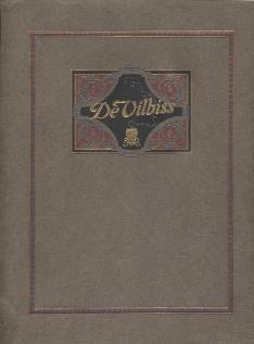 1920s The De Vilbiss (DeVilbiss) Manufacturing Company Catalog Cover