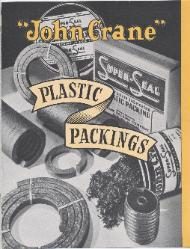 1949 Crane Packing Company ASBESTOS