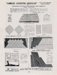 1926 Asbestos Shingle Slate & Sheathing Company ASBESTOS
