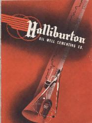 1946 Halliburton Oil Well Cementing Co. Catalog