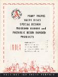 1952 Anchor Packing Co. Pump Valves, Valve Discs, Rubber & Phenolic Resin Products