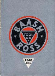 1940 Baash-Ross Tool Company Catalog