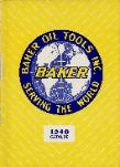 1940 Baker Oil Tools, Inc. Catalog