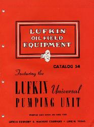 1954 Lufkin Foundry Machine Company