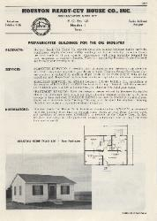 1954 Houston Ready-Cut House Co., Inc. ASBESTOS