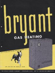 1946 The Bryant Heater Company ASBESTOS
