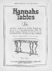 1925 Hannahs Manufacturing Company