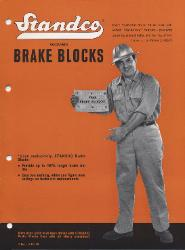 1964 STANDCO Brake Lining Company
