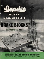 1954 STANDCO Brake Lining Company