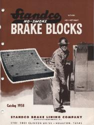1958 STANDCO Brake Lining Company