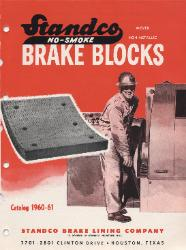 1960 STANDCO Brake Lining Company