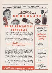 1960 Chocolate Products Company Stillicious