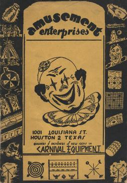 Amusement Enterprises-Carnival Equipment-Catalog